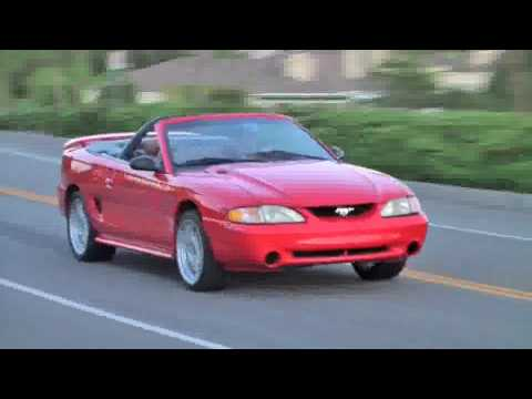 1995 Ford Mustang GT Convertible 50L V8  KS Cars  YouTube