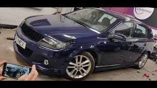Делаем стайлинг Opel Astra H 5D в OPC - Часть: 1
