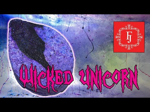 Fragrant Jewels WICKED UNICORN Bath Bomb Demo & Review Underwater 💍 Ring Reveal