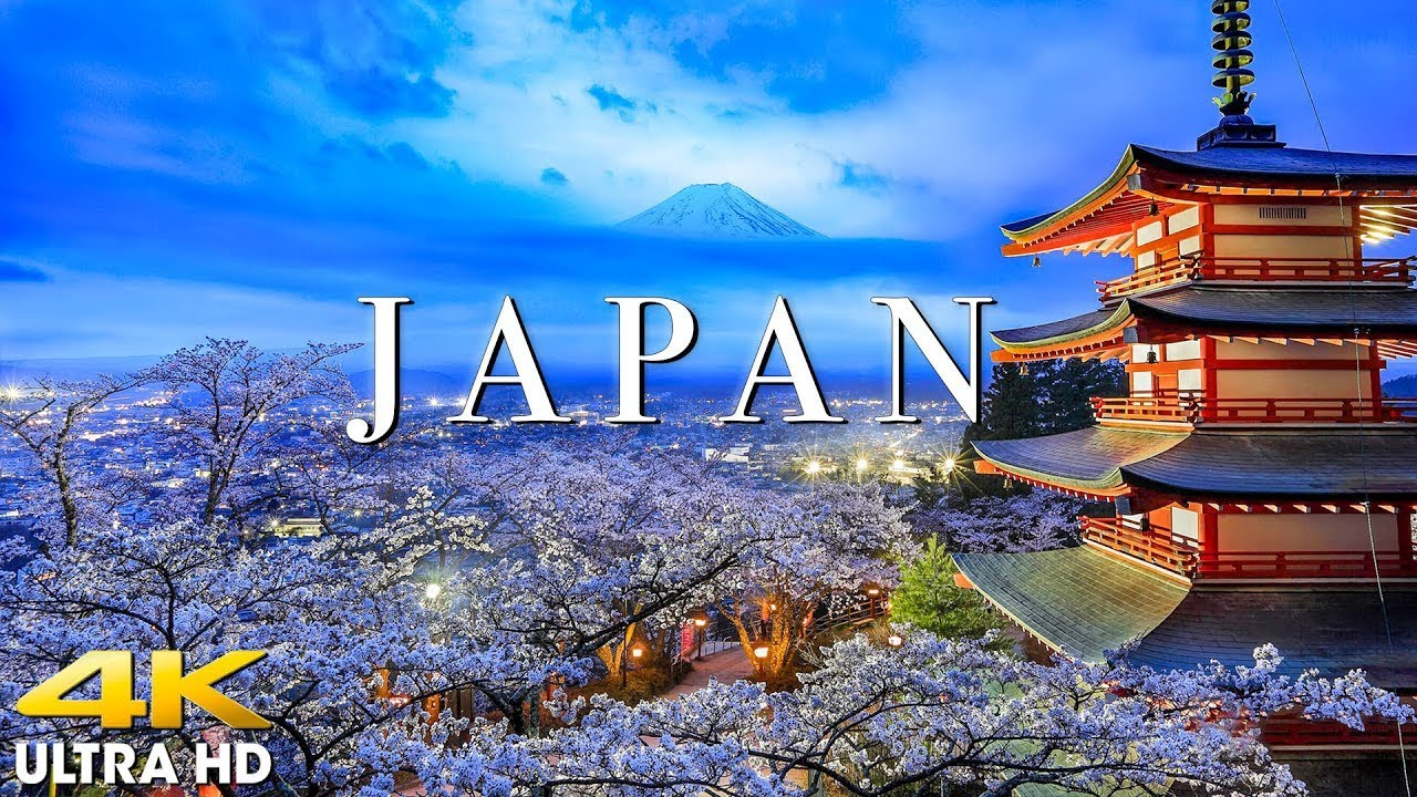 Download FLYING OVER JAPAN (4K UHD) Amazing Beautiful Nature Scenery with Relaxing Music | 4K VIDEO ULTRA HD