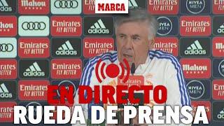 Rueda de prensa de Ancelotti, en la previa al partido frente al Osasuna I DIRECTO MARCA