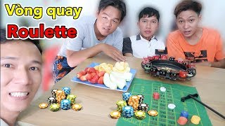 LamTV - Vòng Quay Roulette Siêu Lầy | Trái Cây Chấm Với Mọi Thứ Nước Chấm | Roulette Drinking Game