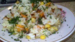 Рис с овощами ( постное блюдо) - Очень вкусный рецепт