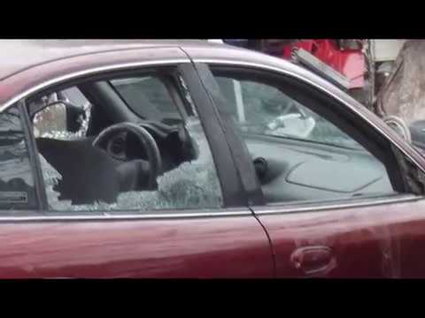 Sheriff John Root Destroys  Cars And Home