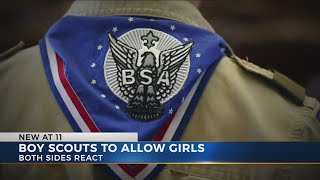 Boy Scouts to begin allowing girls to participate