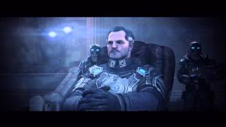 Gears of War: Judgment - Colonial Esra Loomis Punches Baird, Paduk Saves Loomis Cutscene Xbox 360