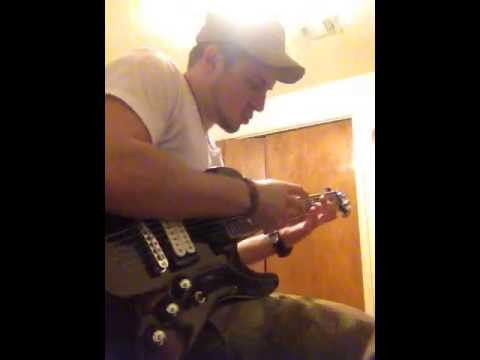 James Melle Homemade riffs tapping