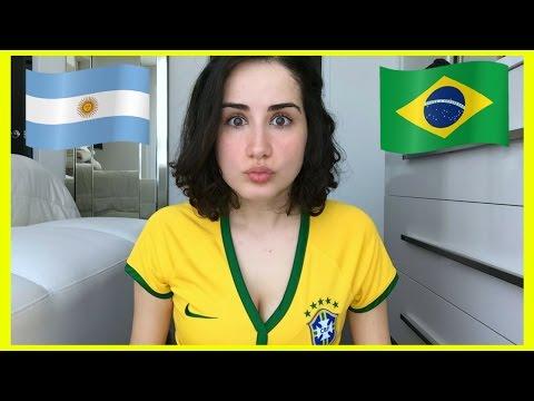 EU AMO A ARGENTINA E ODEIO O BRASIL? 🇦🇷  🇧🇷