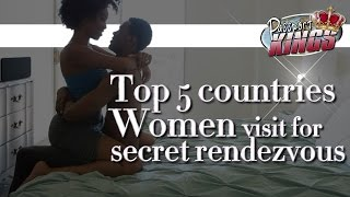 5 International countries where Black Women have secret rendezvous: Passport Kings Travel Video
