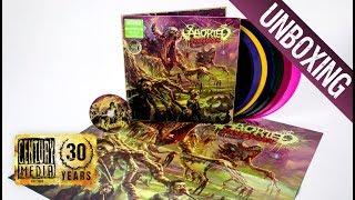 ABORTED - TerrorVision (Vinyl // CD Unboxing)
