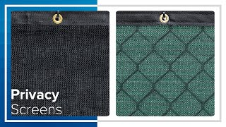 Home & Residential Privacy Fence Screen