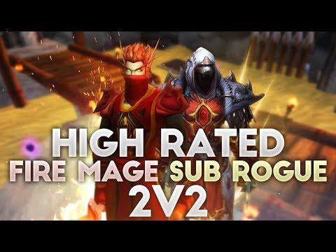 Hansol Legion 2.3K 2v2 Fire Mage / Sub Rogue