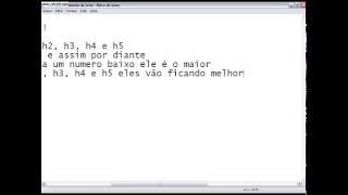 HTML e CSS com Djavan Aula 01 - Já sei HTML! 02/02