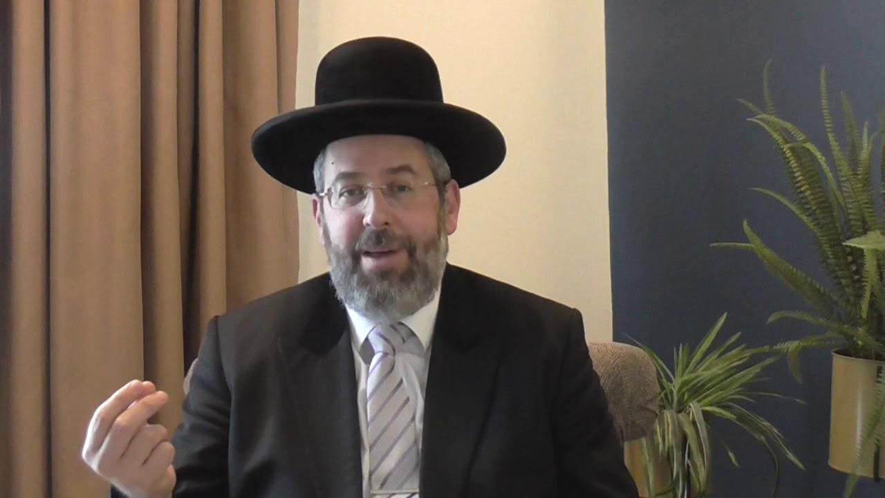 הרב הראשי לישראל הגאון רבי דוד לאו   וורט לפרשת משפטים תשע''ט