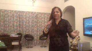 Singing Tip Tip Barsa Pani on Karaoke