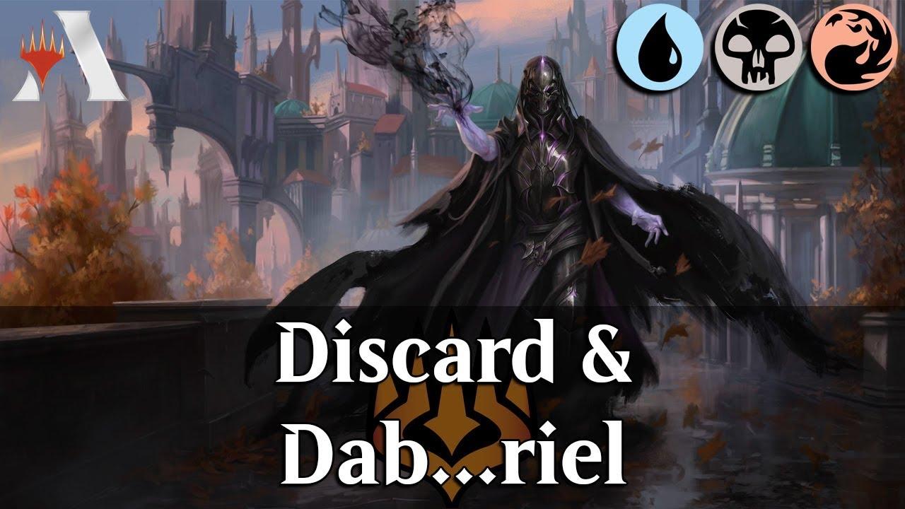 MTG Arena WAR | Davriel Discard Control DeckTech & Gameplay [*DABS*]