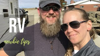 RV Newbie Tips - Challenges in Our First Weeks of RV Life || AT HOME ON THE GO