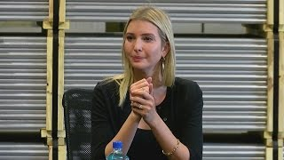 Ivanka Trump visits Middletown Tube Works