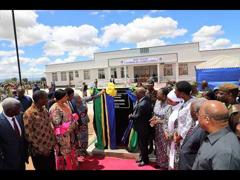 LIVE ; Rais Magufuli akizindua ofisi za Mawaziri Dodoma
