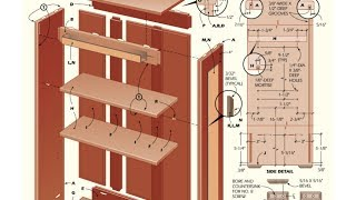 Bookcase Plans - How To Build A Bookcase With Plans,blueprints,diagrams,instructions And More