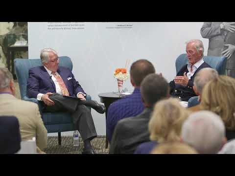 Pepperdine  Pat Boone in Conversation with President Andrew K Benton