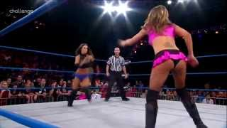 Velvet Sky Vs Brooke Greatest TNA Xplosion Match Ever