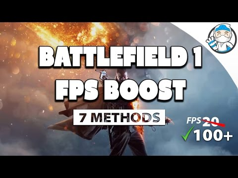 ▻BATTLEFIELD 1 , HOW TO BOOST/FIX  FPS (theory) by Fps_Sausage