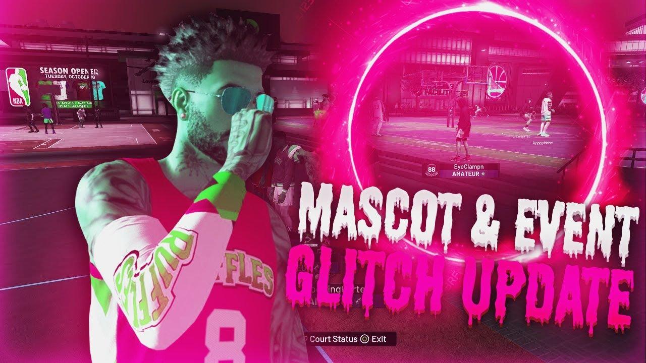 *NEW* NBA 2K20 MASCOT GLITCH FULL TUTORIAL + EVENT GLITCH , LEGEND HELICOPTER GLITCH! | UPDATE