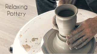 Relaxing Pottery Video - Satisfying Sounds - No talking
