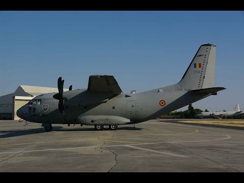 EATT 2015 - Romanian Air Force - Alenia C-27J Spartan