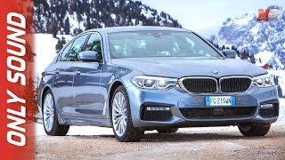 New BMW xdrive experience 2017 - first test drive only sound