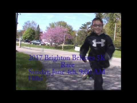 Hillel Community Day School's Run Club Promo of the 2017 Brighton Believes 5K Race.