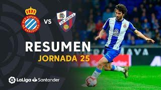 Resumen de RCD Espanyol vs SD Huesca (1-1)