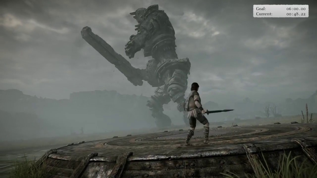shadow of the colossus ps4 how to change swords
