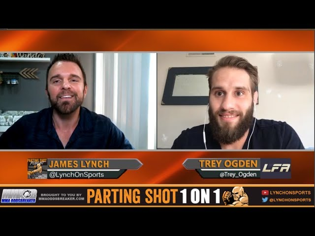 "LFA 21's Trey Ogden ""I'm finishing TJ Brown in the 2nd Round"""