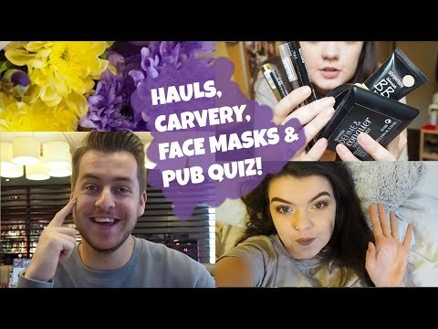 UNI VLOG | Hauls, Food, Face Masks and Quiz! | Carrie Pendle