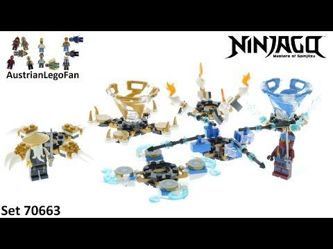 Lego Ninjago 70663 Spinjitzu Nya & Wu - Lego 70663 Speed Build