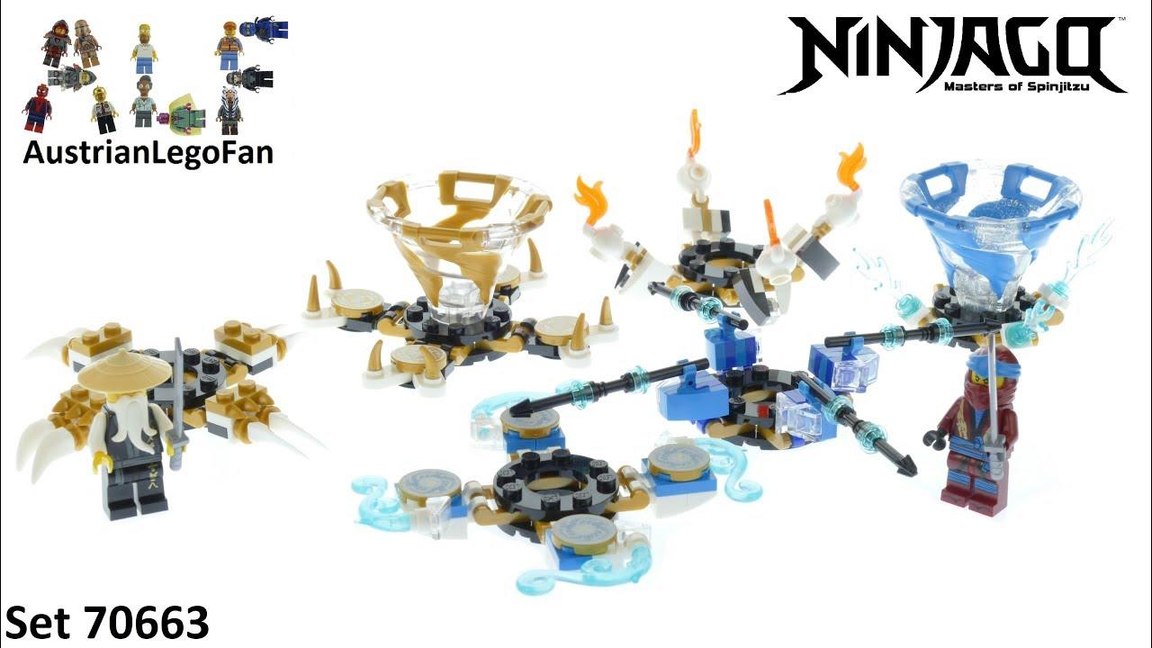 Spinjitzu Nya /& Wu 70663 LEGO® Ninjago®