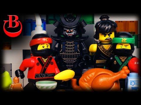 Lego Ninjago Thanksgiving Part 2  - Garmadon's Turkey