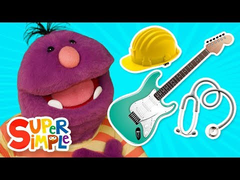 Learn About Jobs & Occupations with Milo The Monster