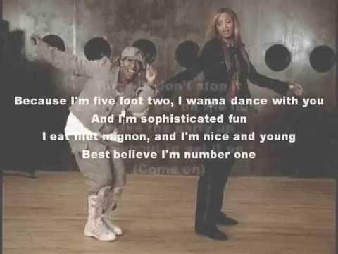 Ciara - 1, 2 Step Karaoke with Lyrics