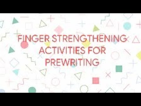 Stationery tools and Games theme fine motor activities