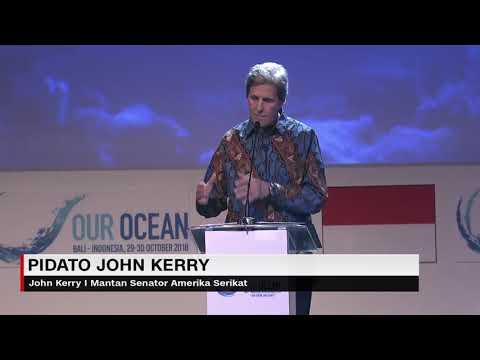 Pidato John Kerry di Our Ocean Conference di Bali