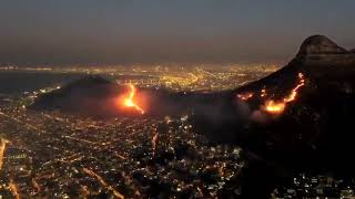 Fire in Cape Town - January 2019