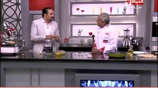 برنامج المطبخ – طريقة عمل الكلامارى سلاط الصحية – الشيف يسري خميس – Al-matbkh