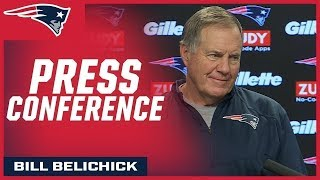 Belichick on Mike Vrabel & Tennessee as league's top defense