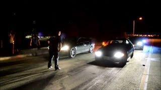 Civic eg vs Malibu (Perris CA Shoot out 2013)
