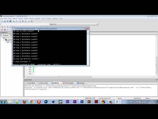 Programozási Tételek - Bináris/Logaritmikus Keresés