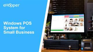 Need a pos system that is compatible with your windows pc or tablet? ehopper the complete for small businesses. https://ehopper.com/win...