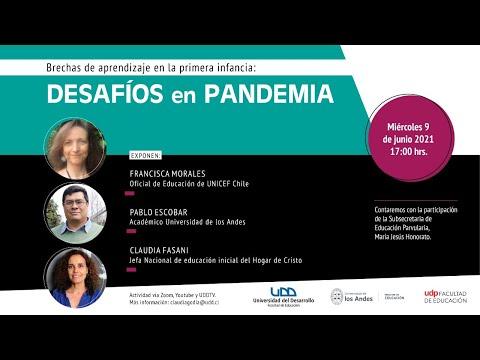 Charla   Brechas de aprendizaje en la primera infancia: desafíos de la pandemia